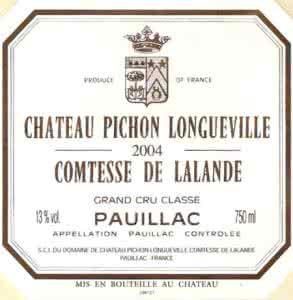 Chateau Pichon-Longueville碧尚女爵